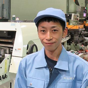 福島工場/製造部 主任 石塚さん