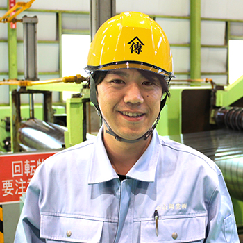 浦安工場/第二加工グループ 主任 吉田さん