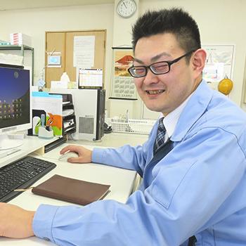 福島工場/営業部 主任 本間さん